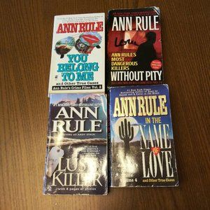 Ann Rule Collection #1 True Crime